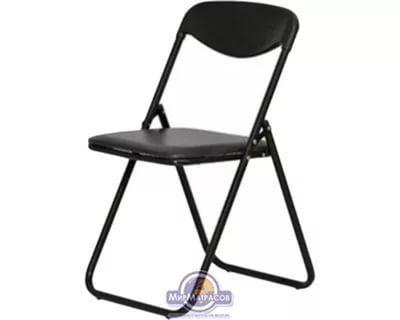 черные складные стулья
