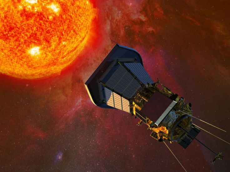 Image result for We Have Lift Off: Parker Solar Probe Starts Historic Journey to Touch the Sun gif