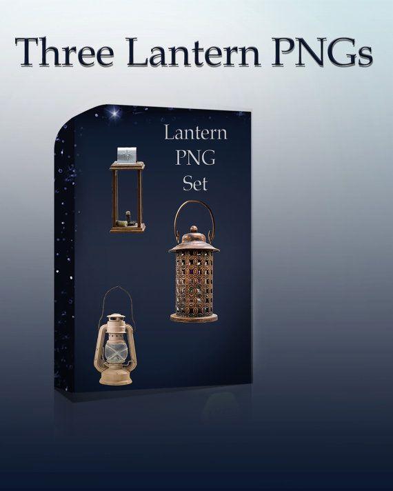 Lanterns PNG  Antique Lantern Png Png Set by PhotoStockMarket