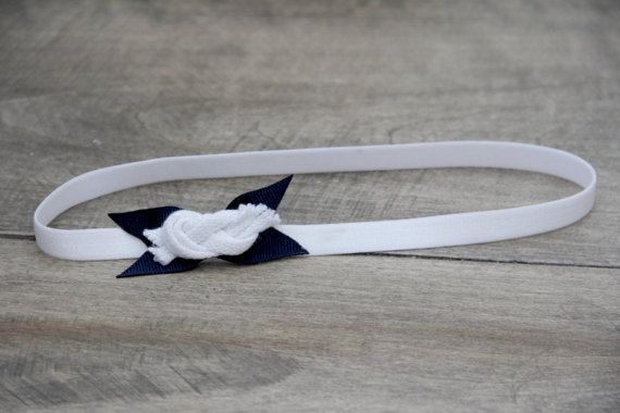 Nautical Headband by BabyFripperies on Etsy