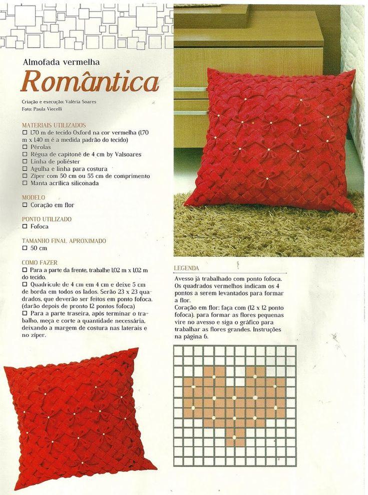 Pillows poufs DIY tutorial