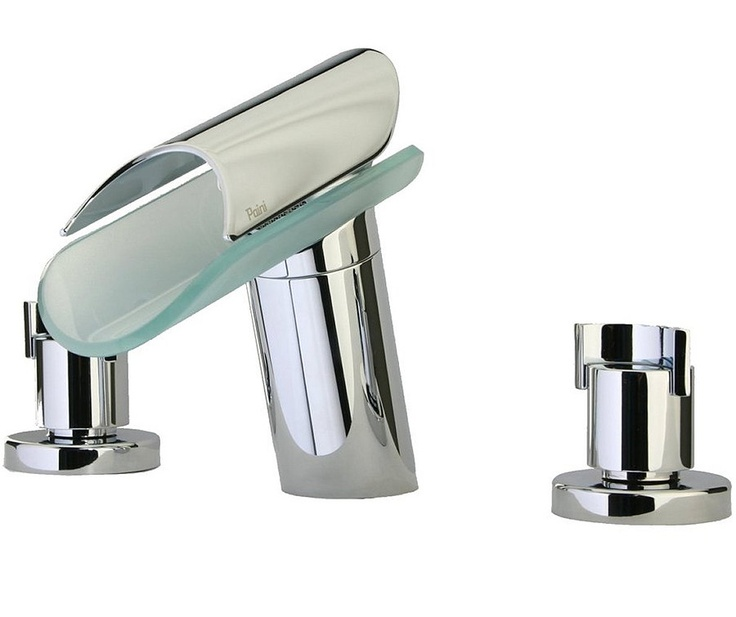 $599 Morgana 8 Inch Widespread Lavatory Faucet 73-214 by Latoscana
