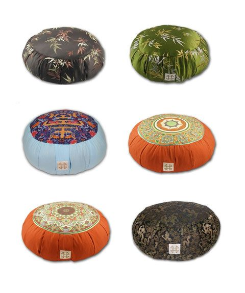 meditation pillows | Yoga & Meditation | Zafu Meditation Cushions: Om | Busyboo