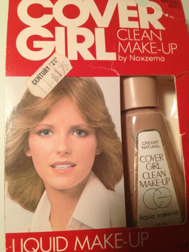 Smells like Mom! - Vintage Cover Girl Clean Makeup...late '70's