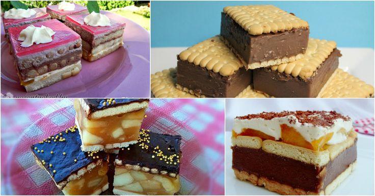 Sütés nélküliek, kekszesek és nagyon finomak! :)