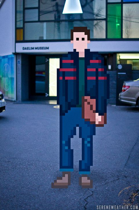 Street Fashion Photography Meets 8-Bit Pixels — John Yong