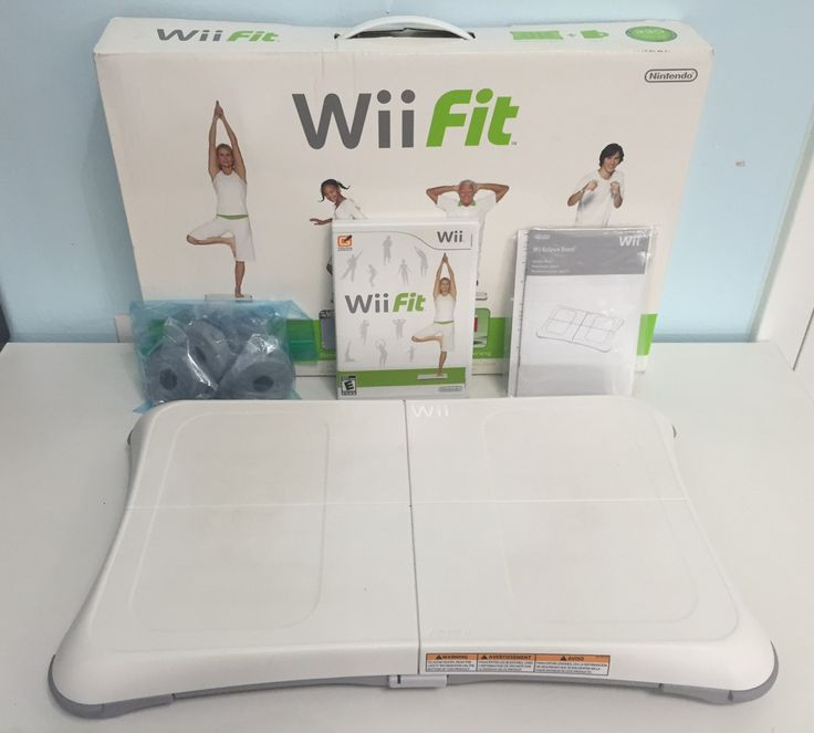 Wii Fit Game (Nintendo Wii, 2008) with Original Box and Wii Fit Disc - Rated E for $19.99! Available at Gadgets and Gold!