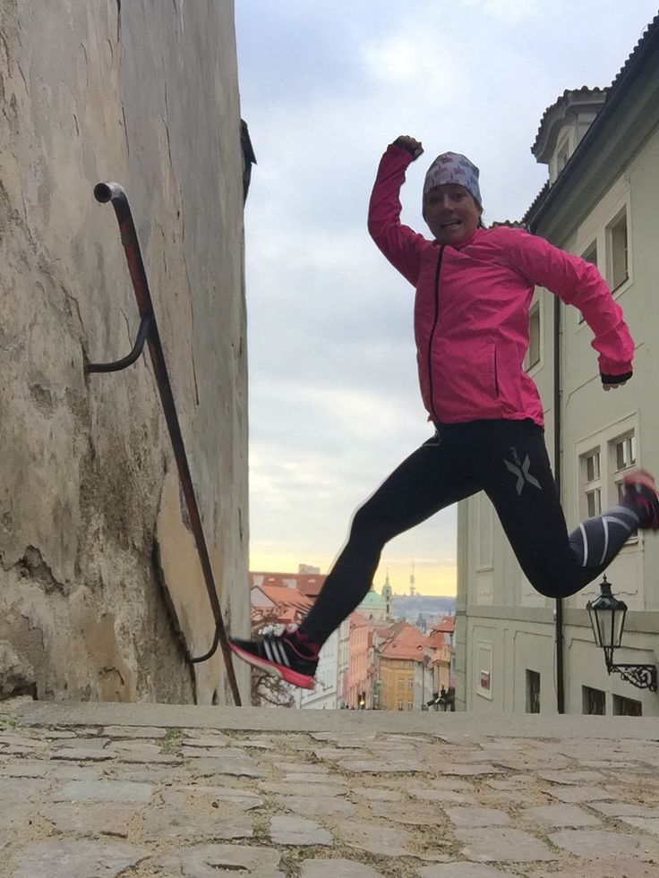 Jumping in Praha