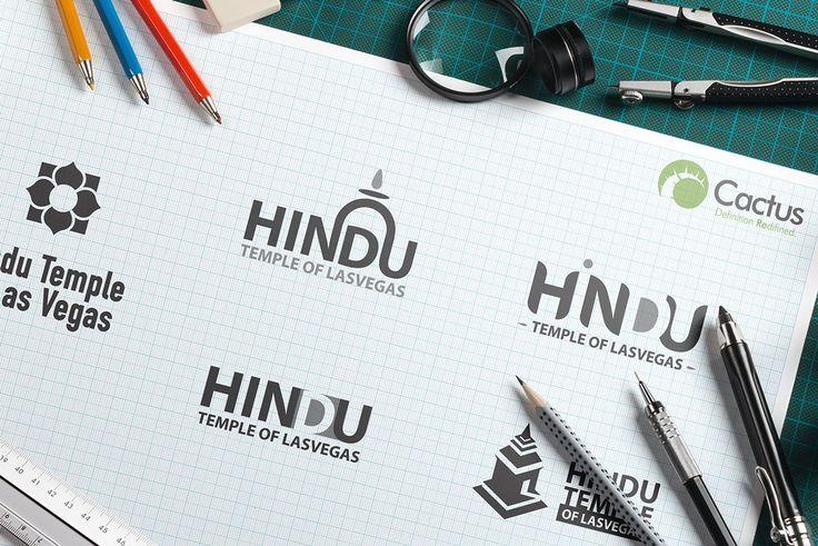 Hindu Temple of Las Vegas Logo on Behance