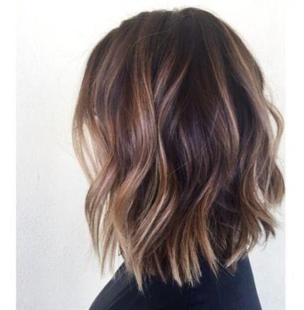 70+ Ideen für kurzes Haar Brunette Lob Haircut   – Nail & Hair Ideas