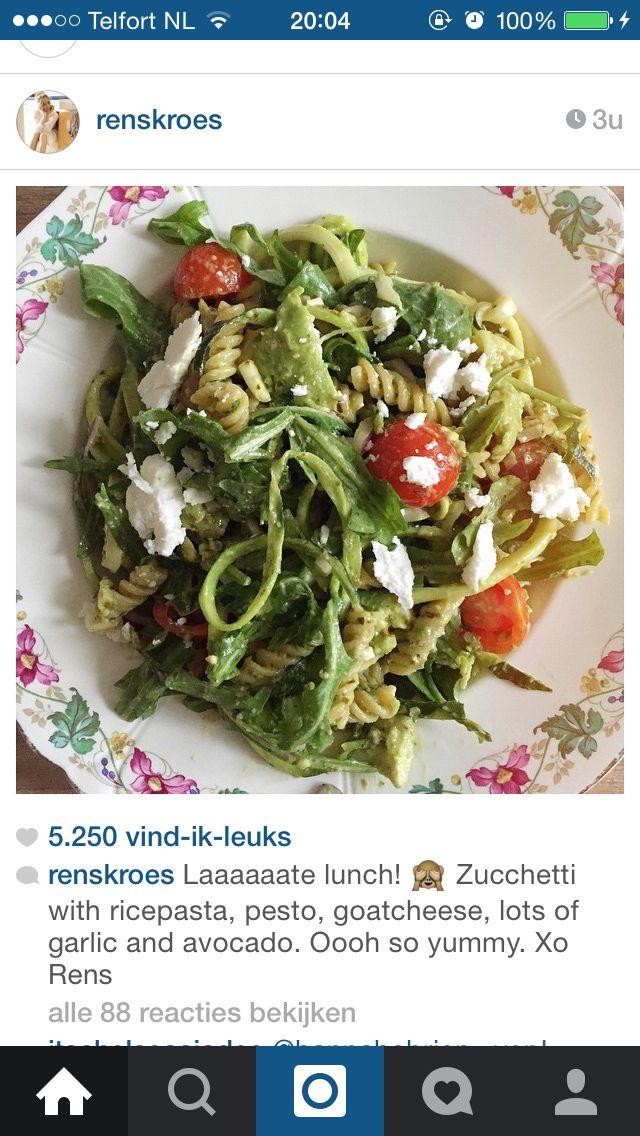 Zuchhetti salade | Rens Kroes