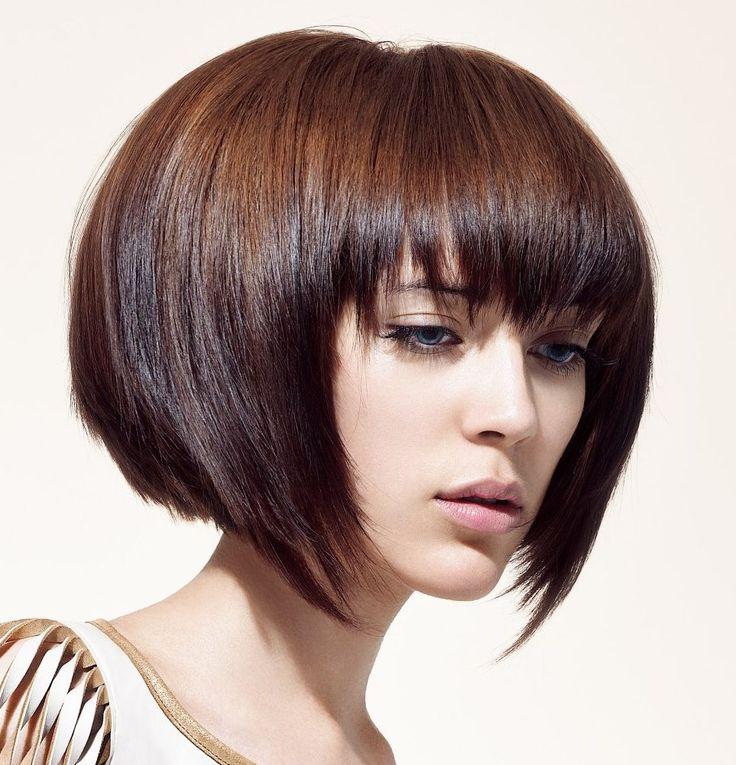 nice Модная стрижка градуированное каре (50 фото) - Варианты на средние и короткие волосы
