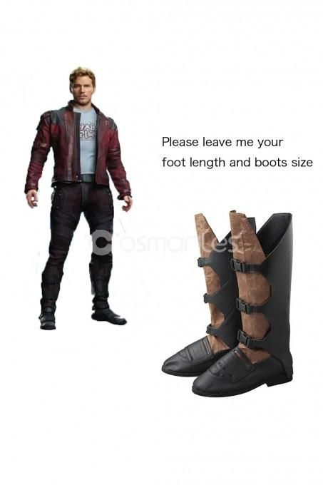Guardians of The Galaxy 2 Cosplay Star-Lord Peter Jason Quill Boots