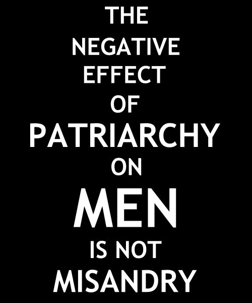 Yes!  We need to say this, over and over again, until we are all free from gendered expectations.