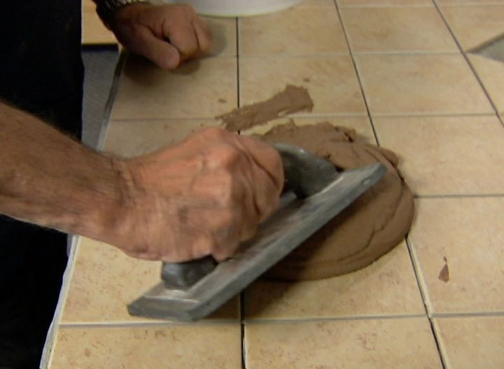 View this quick video tip demonstrating how to apply tile grout correctly.