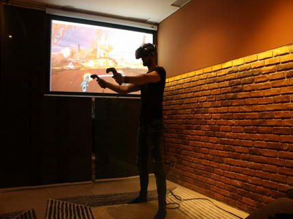Bratislava Virtual Reality Bar for Stag Fun #Stagdo #Bratislavafun #stagparty