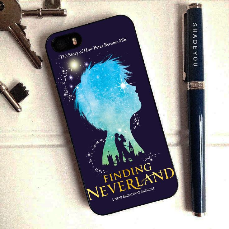 Finding Neverland Broadway Musical - Peter Pan iPhone 6 Case, iPhone 5S Case, iPhone 5C Case plus Samsung Galaxy S4 S5 S6 Edge Cases - Shadeyou - Personalized iPhone and Samsung Cases