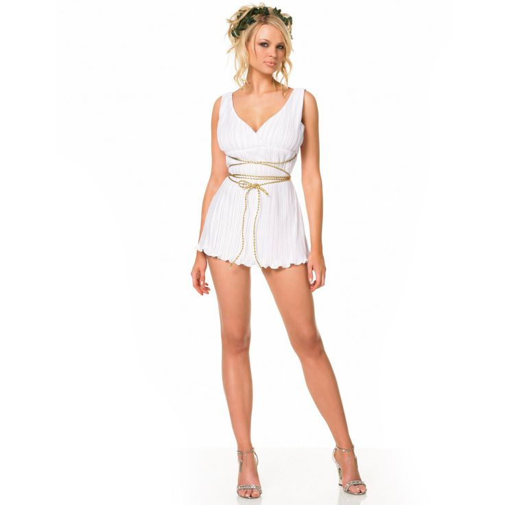 Greek Goddess Sexy Adult Costume #sexy womens costumes #sexy halloween costumes