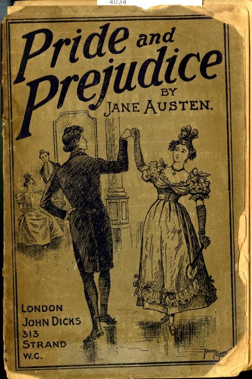 A John Dicks version of Pride and Prejudice printed in 1887.