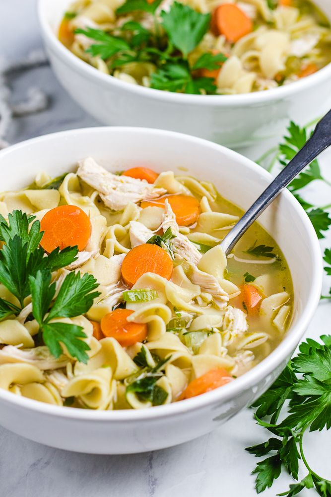 the best instant pot chicken soup  recipe  instant pot