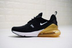 reputable site d0a9b 5626c NIKE iD Air Max 270 Black Brown Men s Running Shoes