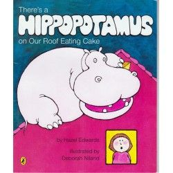 There's a Hippopotamus on my roof eating Cake is now in stock at The Reading Nest. Find a range of second-hand children's books, gifts and stationery at The Reading Nest. www.thereadingnest.com.au