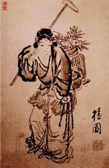 Mago by Kim, Hongdo, 18th C, Joseon Korea