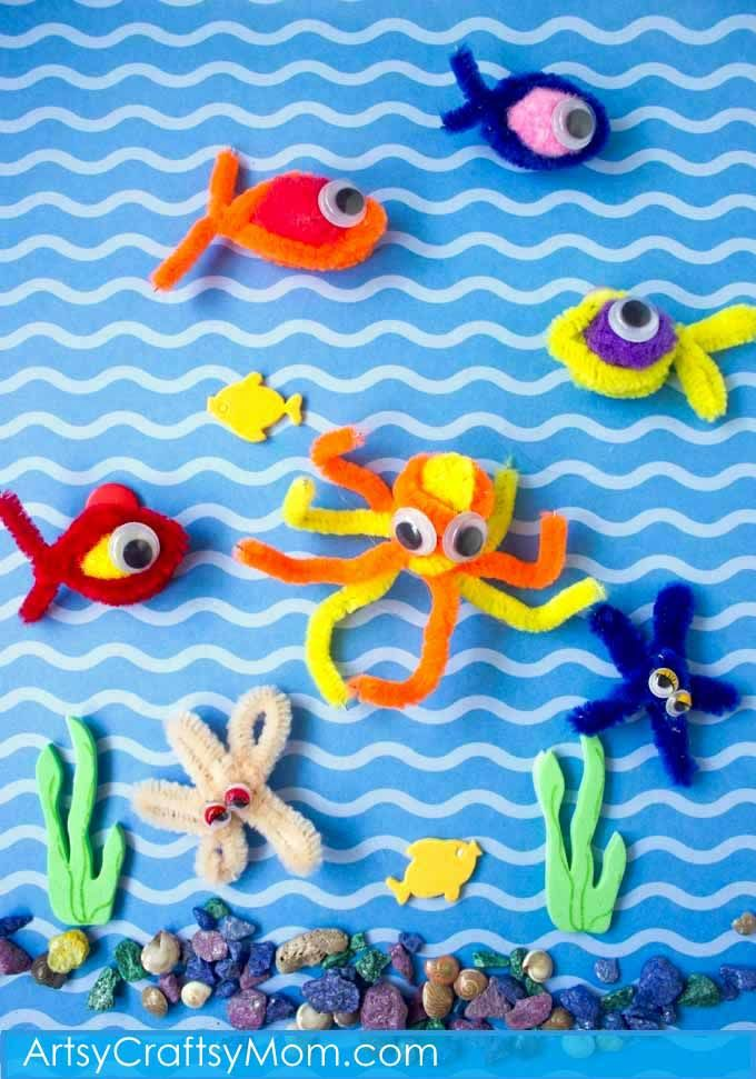 336 best images about pipe cleaner crafts for kids to make for All fishing games