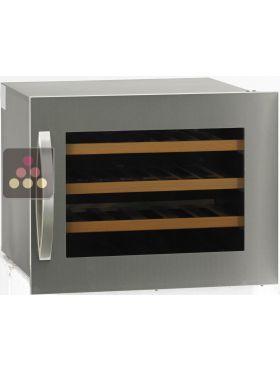 Single temperature built in wine service cabinet