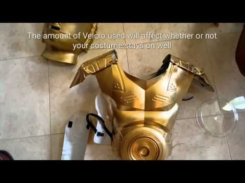 DIY C3PO Costume - YouTube