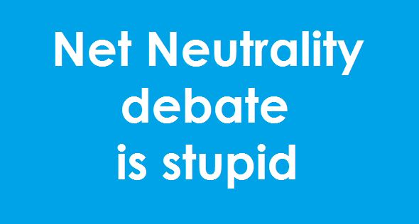Net Neutrality debate is stupid #digitalmarketing #onlinemarketing #netneutrality #internet.org #facebook #freebasics