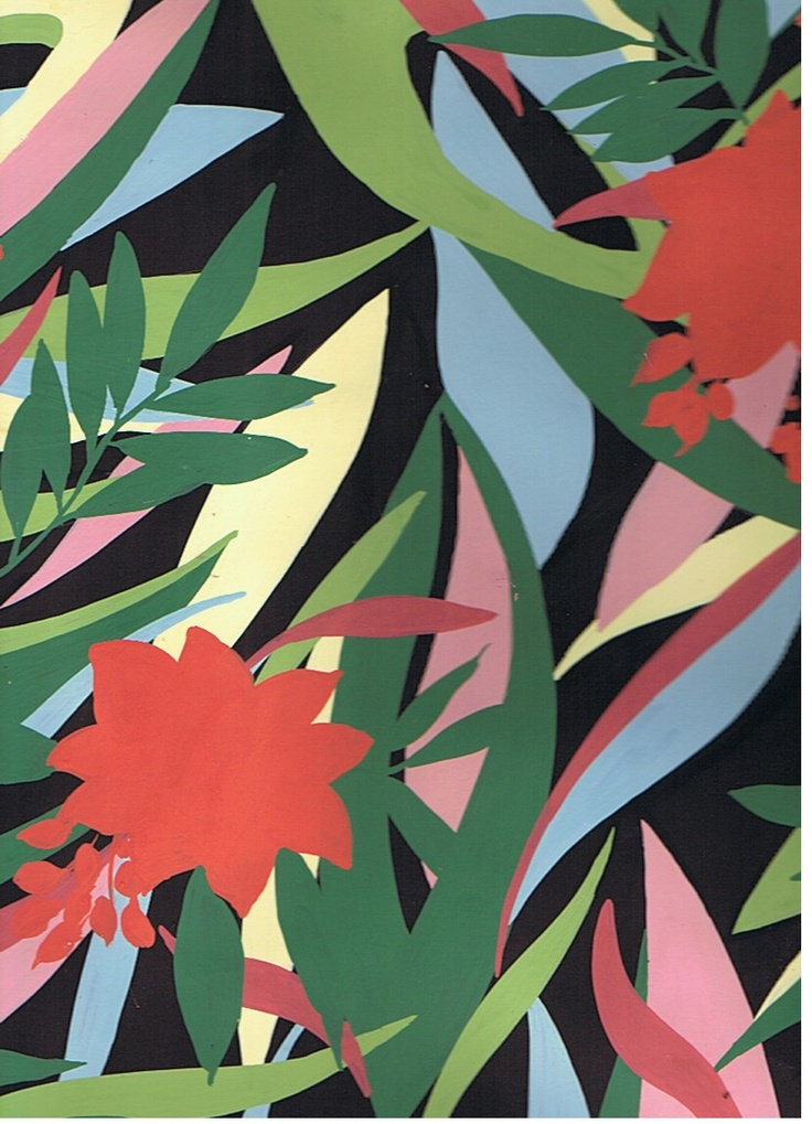 Fabric design by Kate Cooke
