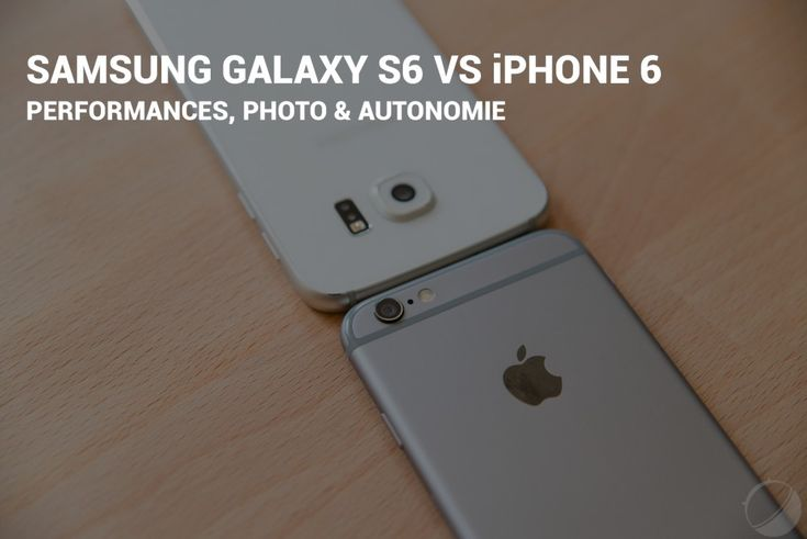 Samsung Galaxy S6 vs iPhone 6 : le face à face - http://www.frandroid.com/marques/apple/278293_comparatif-samsung-galaxy-s6-iphone-6  #Apple, #Samsung, #Smartphones, #Versus