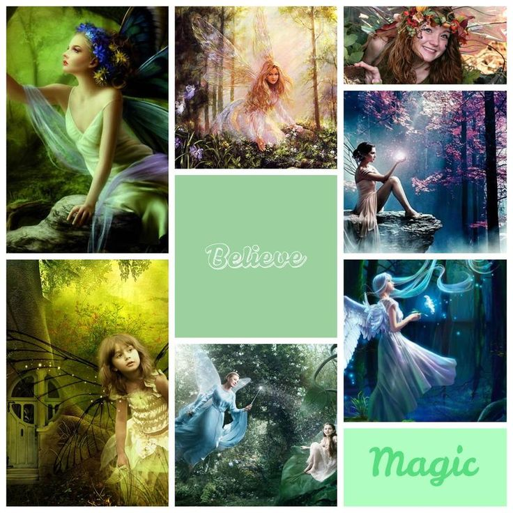 Magical Fairies Collage! | Created with @Slidely, the best way to explore and share photo & video collections in beautiful and creative ways. Check it out! https://slide.ly/collage/create