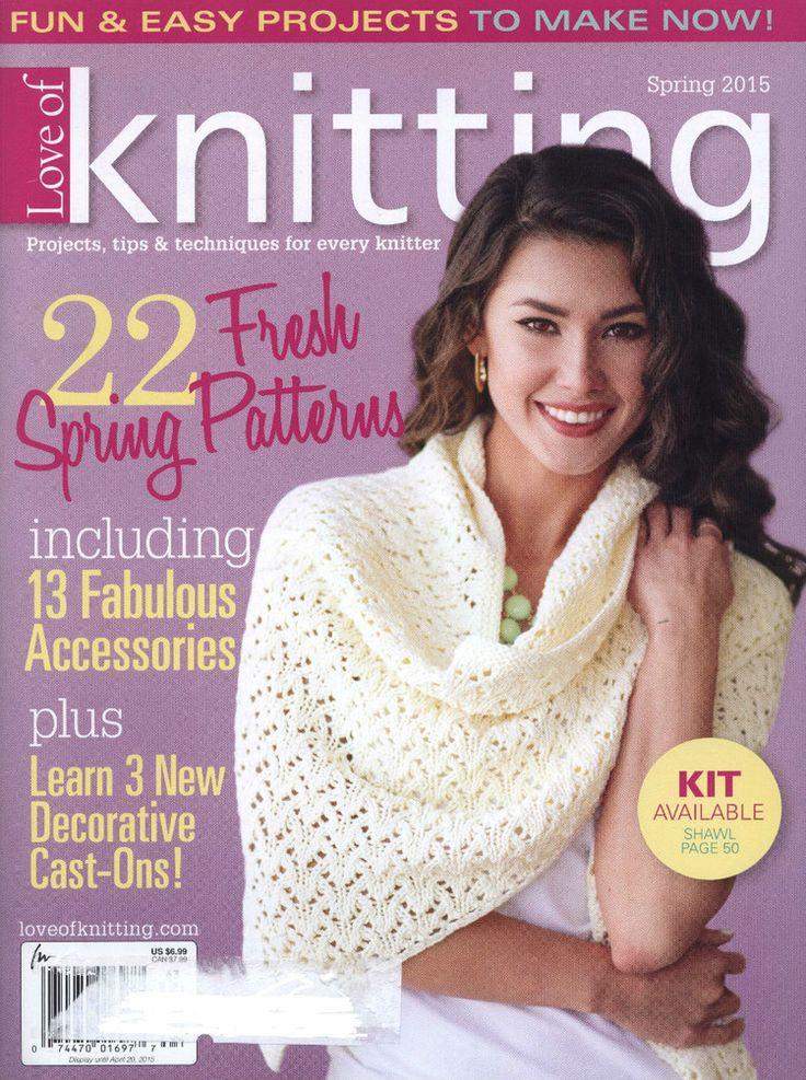 Love of Knitting Spring 2015 - 轻描淡写 - 轻描淡写