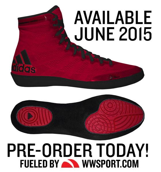 New 2015 Color of Adidas adiZero Varner Wrestling Shoes!