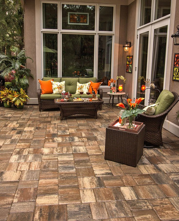 Entertain Guests On Your New Patio Designed With Mega Olde Towne Sierra  Pavers From Tremron. Lanai IdeasPatio DesignHardscape ...