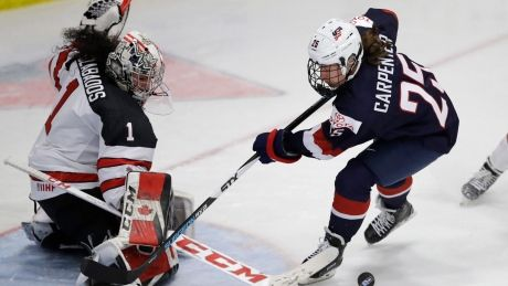 U.S. beats Canada to capture gold for 4th straight time at hockey worlds