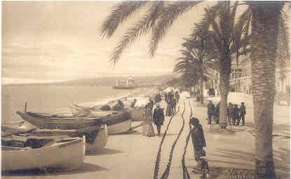 LL Postcard - Nice - La Promenade des Anglais et le Palais de la Jetté, c1910
