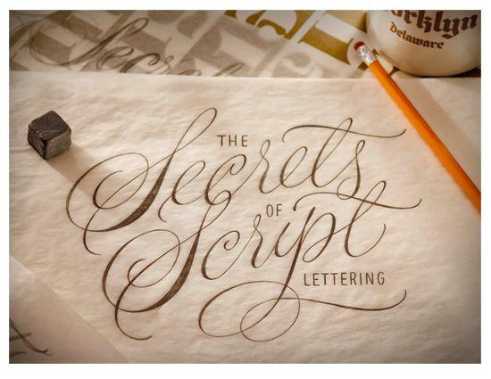 House Industries, House 1151, Secrets of Script Lettering, Ken Barber