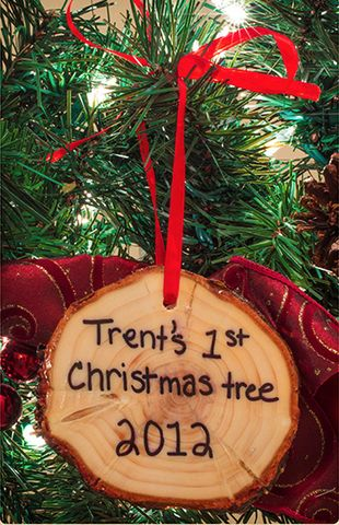 Peachy 1000 Ideas About First Christmas Ornament On Pinterest Easy Diy Christmas Decorations Tissureus