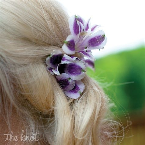 These would be so pretty in our hair! or at least yours lol