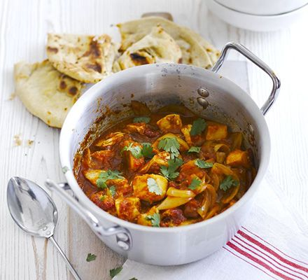 Go classic with leftover turkey and whip up this healthy spice-filled stew with peppers and tomatoes - Turkey & potato curry