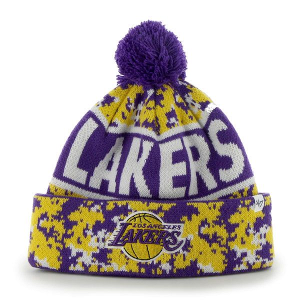 Men's Los Angeles Lakers '47 Brand Gold Armory Beanie, Today's Sale Price: $18.99 -  You Save: $6.00