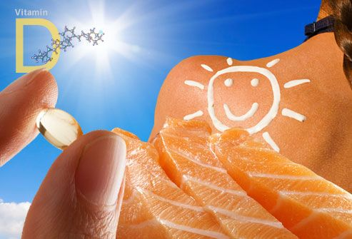 """Vitamin D Slideshow: Deficiency Symptoms, Foods, Tests, Benefits, and More.  """"Vitamin D:  Wonder Pill Or Overkill?""""    WebMD."""