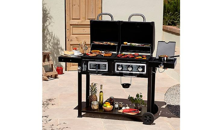 25 best ideas about gas and charcoal grill on pinterest. Black Bedroom Furniture Sets. Home Design Ideas