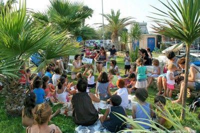 """San Benedetto del Tronto, al Circolo """"Ragn'A Vela"""" doppio appuntamento con le letture animate in spiaggia"""
