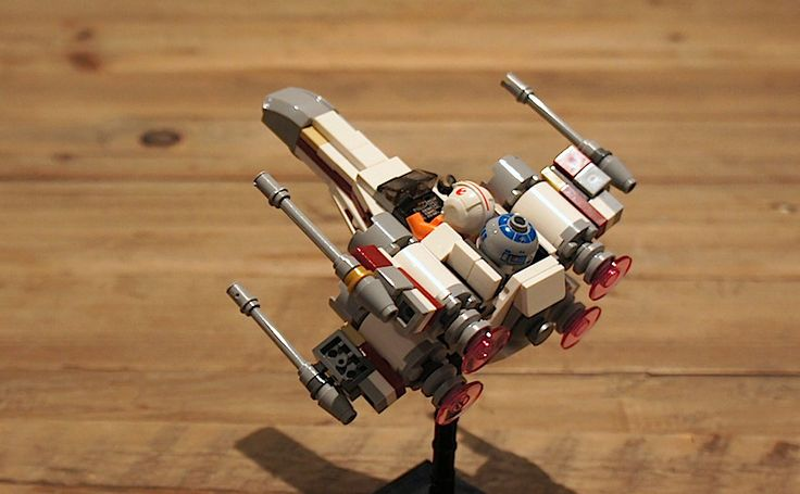 X-Wing | not too chibi microfighter | By: yxxn_ | Flickr - Photo Sharing!