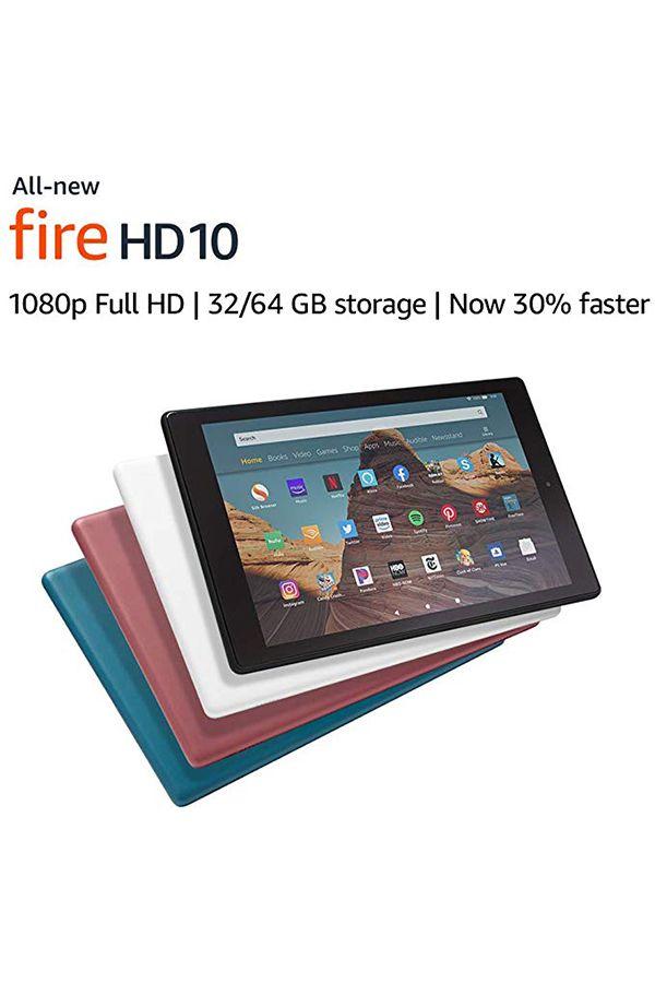 All New Fire Hd 10 Tablet 10 1 1080p Full Hd Display 32 Gb Black Fire Hd 10 Tablet Full Hd