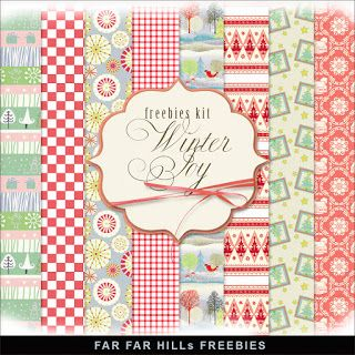 Sunday's Guest Freebies ~ Far Far Hill  ✿ Follow the Free Digital Scrapbook board for daily freebies: https://www.pinterest.com/sherylcsjohnson/free-digital-scrapbook/ ✿ Visit GrannyEnchanted.Com for thousands of digital scrapbook freebies. ✿